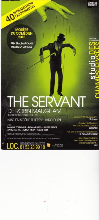 THE SERVANT Studio des Champs-Elysées
